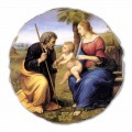 A Sagrada Família com uma Palmeira por Raphael, tamanho grande