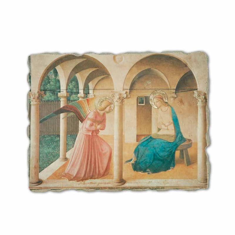"""Beato Angelico, fresco, reprodução, """"Annunciation"""", feito à mão"""