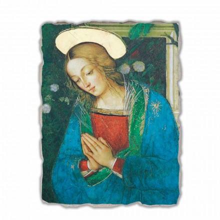 Natividade de Pinturicchio, afresco pintado à mão
