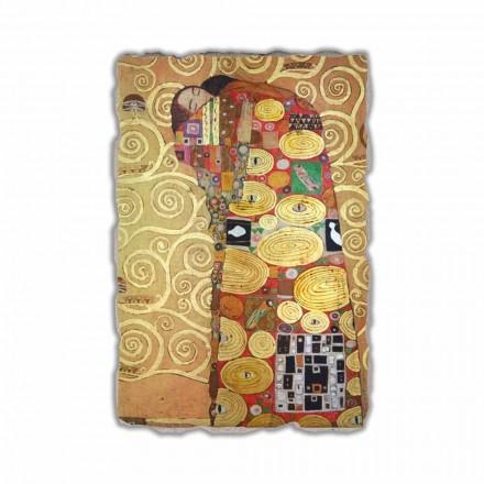 Cumprimento (The Embrace) de Gustav Klimt