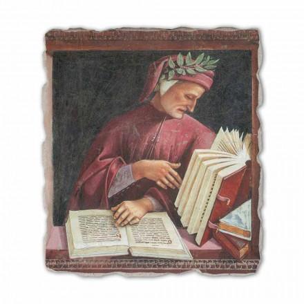Dante Alighieri por Luca Signorelli, afresco pintado à mão