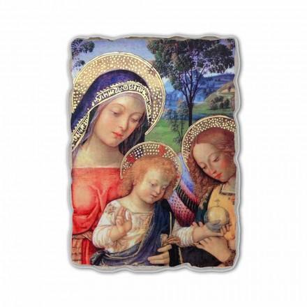 Nossa Senhora da Paz (detalhe), pintando por Pinturicchio