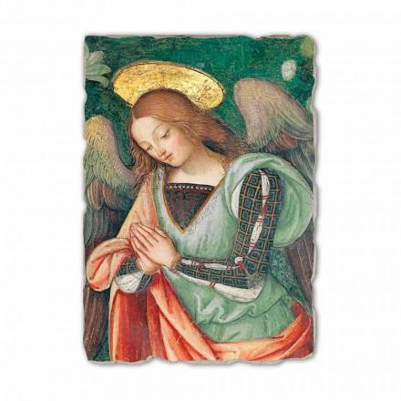 Fresco da natividade (detalhe do anjo) por Pinturicchio