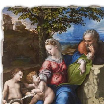 """Reprodução Fresco R.Sanzio """"Sagrada Família sob o Carvalho"""""""