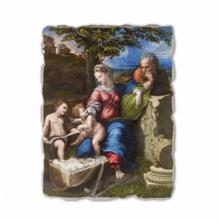 A Sagrada Família do Carvalho de Rafael, feita na Itália