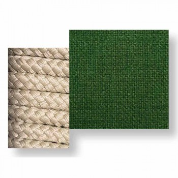 Balanço de jardim com design moderno em tecido e corda - Cliff by Talenti