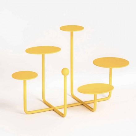 Suporte de Doces Design em Aço Pintado Made in Italy - Pennellope