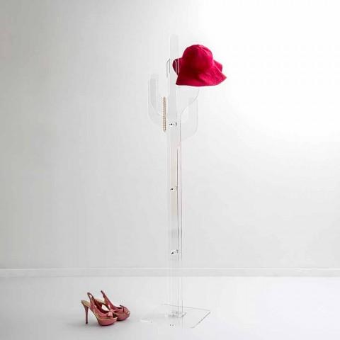 Revestimento contemporâneo de design transparente Cactus, fabricado na Itália