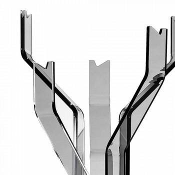 Cabide liso com 5 ganchos Andrea, design moderno
