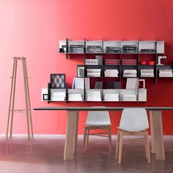 Cabide de Design Moderno Natural ou Madeira Branca - Langoustine