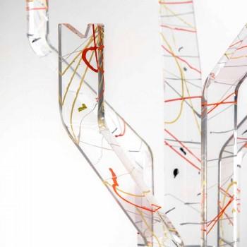 Cabide de assoalho multicolor moderno feito na Itália, Andrea