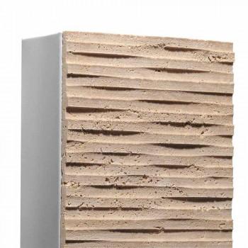 Arandela de pedra e metal Serafini Marmi Pedra fabricada na Itália