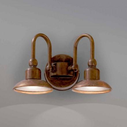 Arandela de duas luzes para exterior Bugatti by Aldo Bernardi
