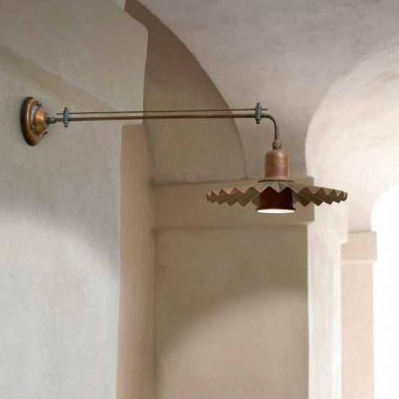 Candeeiro de parede design moderno Civetta by Aldo Bernardi
