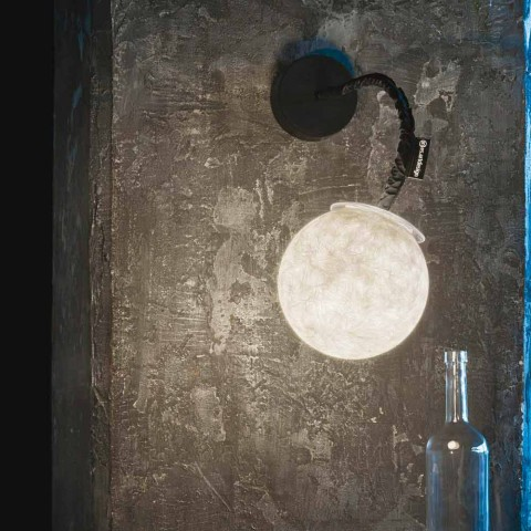 Arandela contemporânea In-es.artdesign Arandela Micro Nebulosa Luna