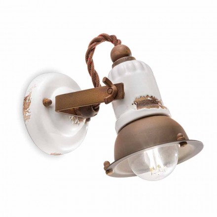 Kendra apliques de cerâmica e metal ajustável por Ferroluce