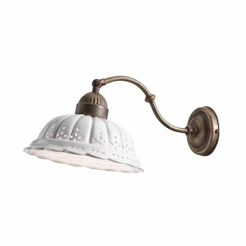 Applique art nouveau em Bassano Anita cerâmica Il Fanale