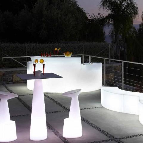 Contador de barra brilhante Bar de quebra de estilo moderno feito na Itália
