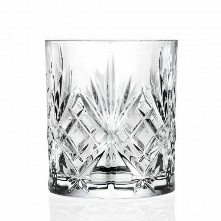 Vidro duplo antiquado, estilo vintage Eco Crystal 12 peças - Cantabile