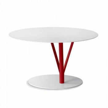 Bonaldo Kadou design de mesa de aço pintado D70cm made in Italy