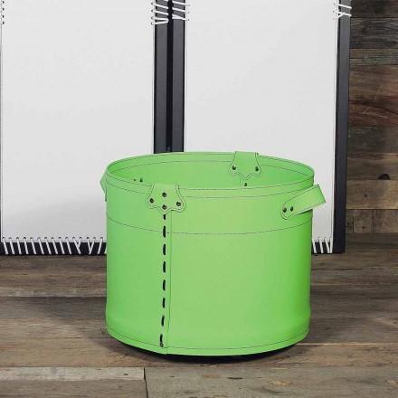 Porta-toras 100% fabricado em couro Cartesio Itália