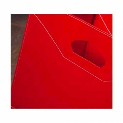 Bolsa de madeira 100% fabricada em couro Itália Innovo