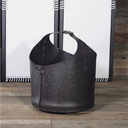 Suporte de madeira de design decorativo com rodas de borracha Michelangelo