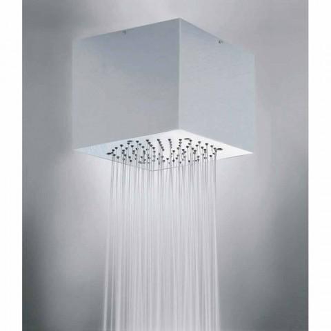 Bossini Cube cabeça de chuveiro revestido de aço para um jato moderno