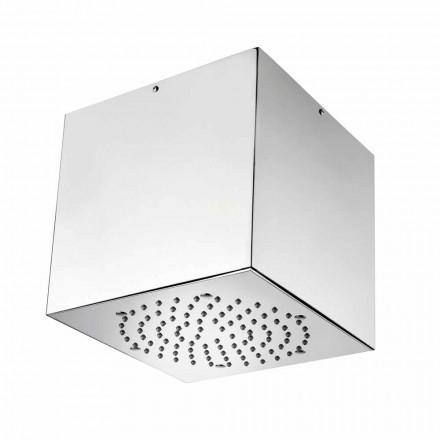 Bossini 1 cabeça de chuveiro de spray com tampa de aço inoxidável, design moderno