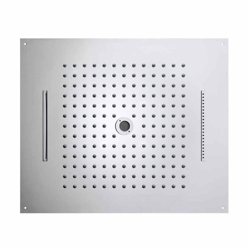 Cabeça de chuveiro Bossini Dream moderno e original de quatro funções