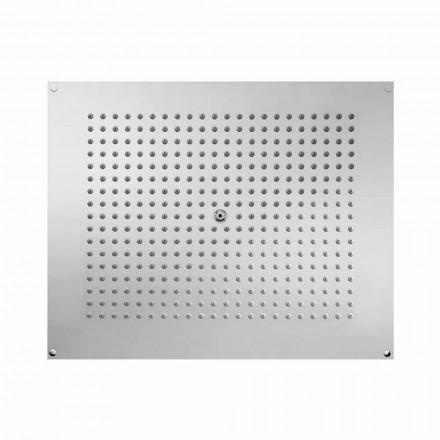 Cabeça de chuveiro ultra-plana Bossini 570x470mm