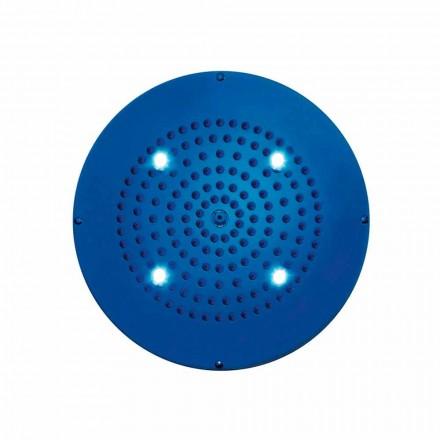 Cabeça de chuveiro Bossini Round Sonhe com cromoterapia, design moderno