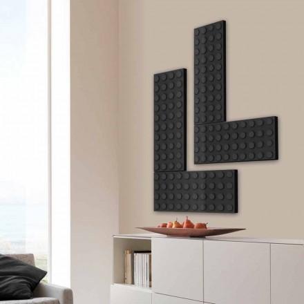 Radiador elétrico elegante tijolo feito na Itália por Scirocco H
