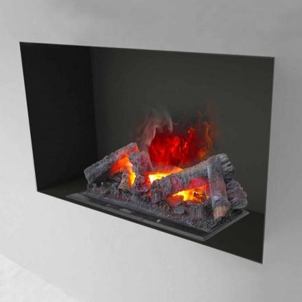 Inserção da lareira elétrica com vapor de água Hardy 90