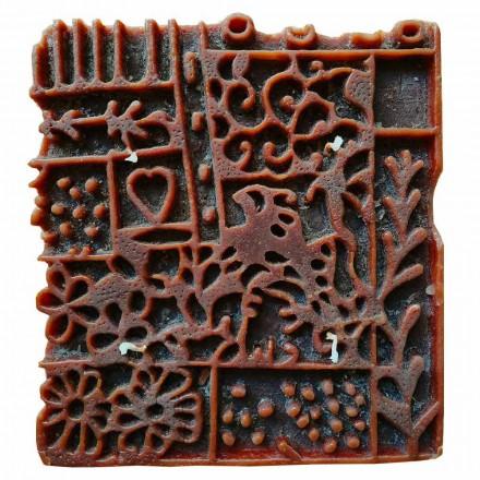 Vela artesanal com 4 pavios em cera perfumada fabricada na Itália - Tacna