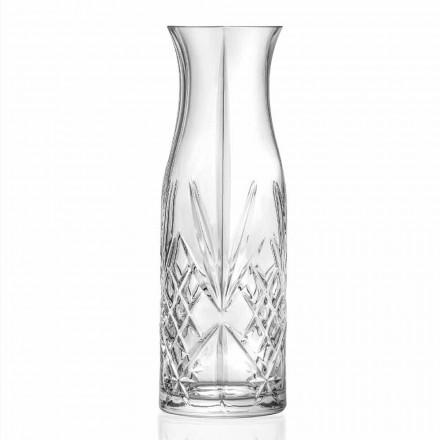 Vintage Design Eco Crystal Water or Wine Jar 4 peças - Cantabile
