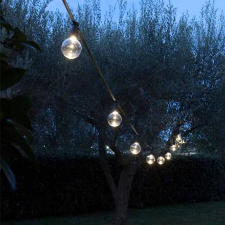Cabo externo de neoprene com 8 lâmpadas LED incluídas Fabricado na Itália - festa