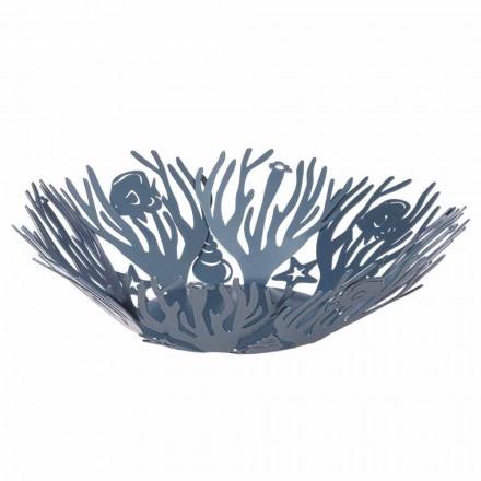 Peça central grande com corais de ferro feitos à mão feitos na Itália - Maste