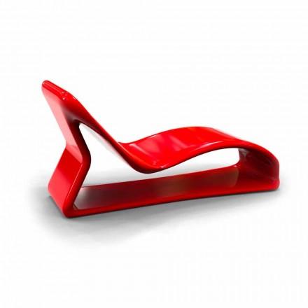 Cadeira de sala de design moderno Kobra, fabricada na Itália