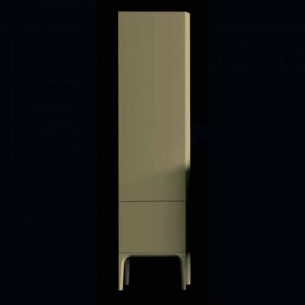 Armário de banheiro de design moderno Ambra com 2 portas, fabricado na Itália