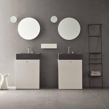 Composição do piso de móveis de banheiro de design moderno - Farart10
