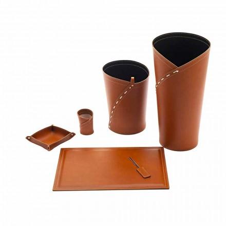Acessórios de escritório fabricados na Itália Suporte de guarda-chuva, compartimento de papel, almofada de mesa - Giulio