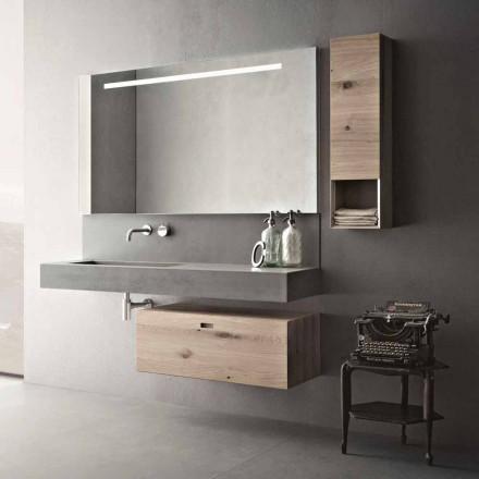 Composição de design para móveis suspensos modernos de banheiro feitos na Itália - Farart2