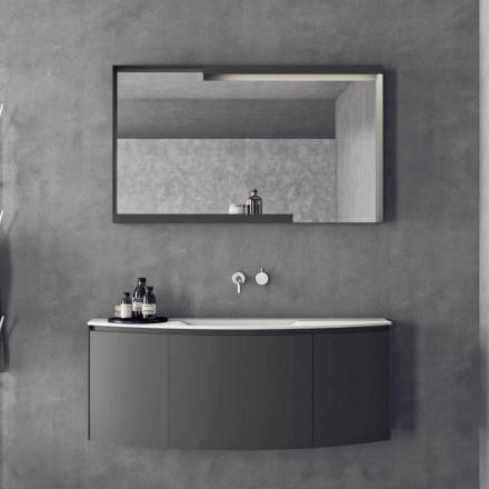 Composição de mobiliário de banheiro suspenso de design moderno - Callisi3