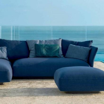 Composição de mobiliário de exterior moderno Cliff Talenti, design Palomba