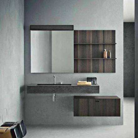 Composição para Banheiro Suspenso e Design Moderno Made in Italy - Farart9