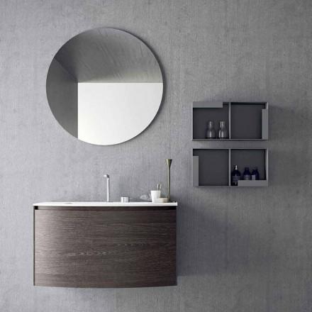 Composição para Banheiro Suspenso de Design Moderno Fabricado na Itália - Callisi11