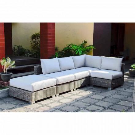 Sofá modular Rita, design moderno