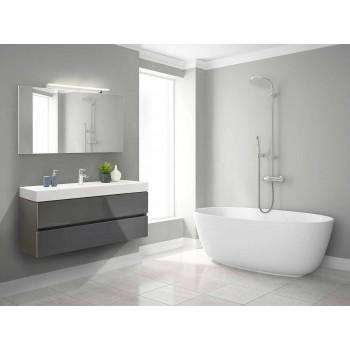 Móveis de casa de banho suspensos em MDF fabricados na Itália - Becky