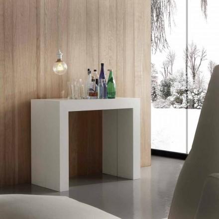 Mesa de console extensível Uri, design moderno